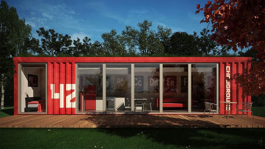 Strutture Di Case Moderne.20 Case Container Dal Design Moderno Mondodesign It