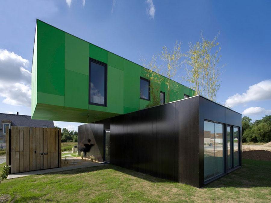 Casa container dal design moderno n.04