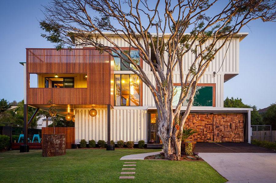 Casa container dal design moderno n.05