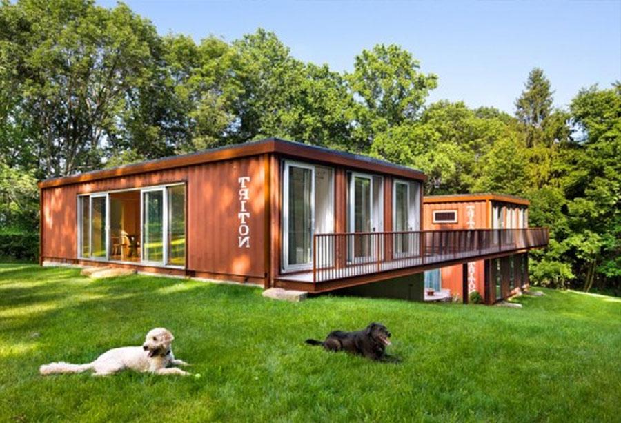 Casa container dal design moderno n.07