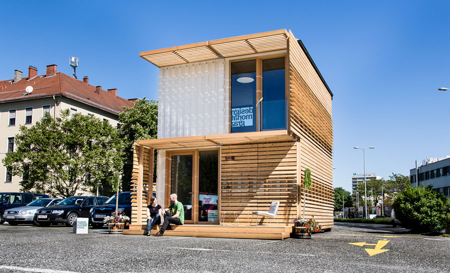 Casa container dal design moderno n.09
