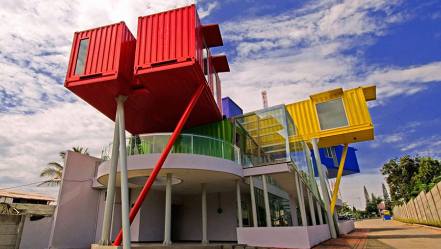Casa container dal design moderno n.10