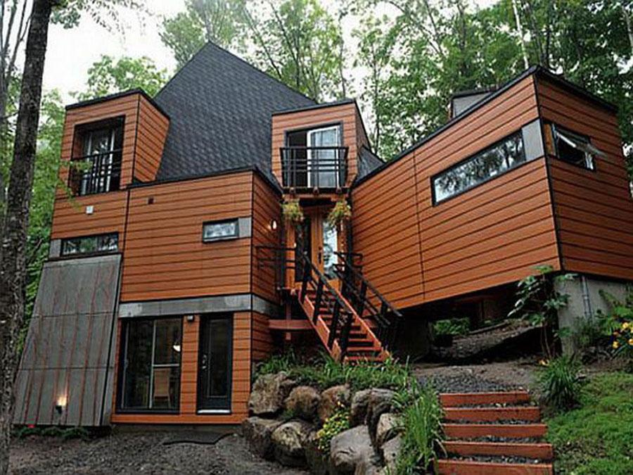 Casa container dal design moderno n.11