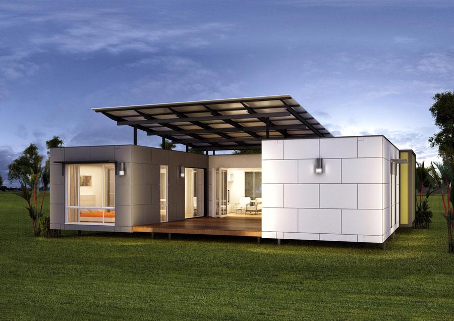 Casa container dal design moderno n.12