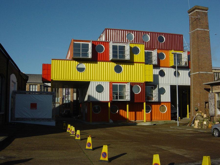 Casa container dal design moderno n.13