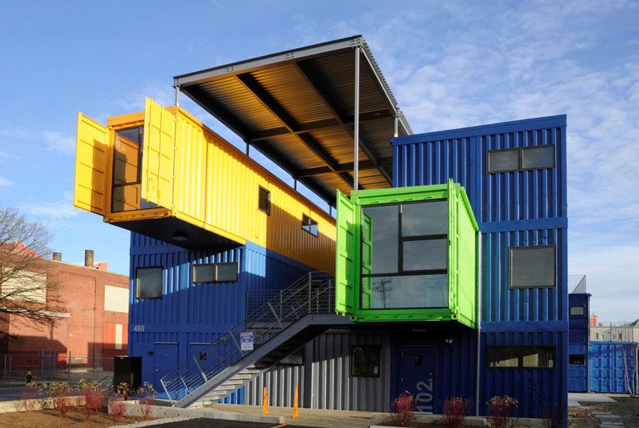 Casa container dal design moderno n.14