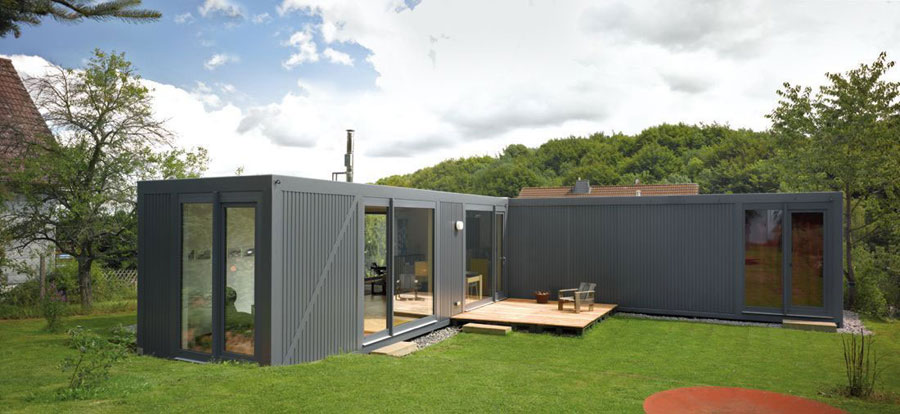 Casa container dal design moderno n.17