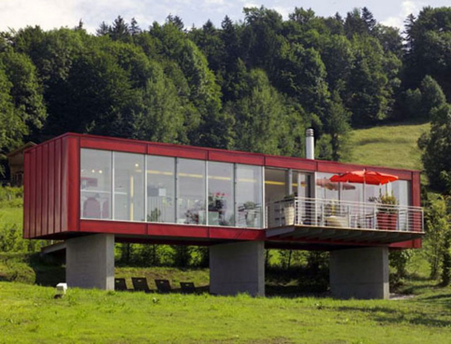 Casa container dal design moderno n.18