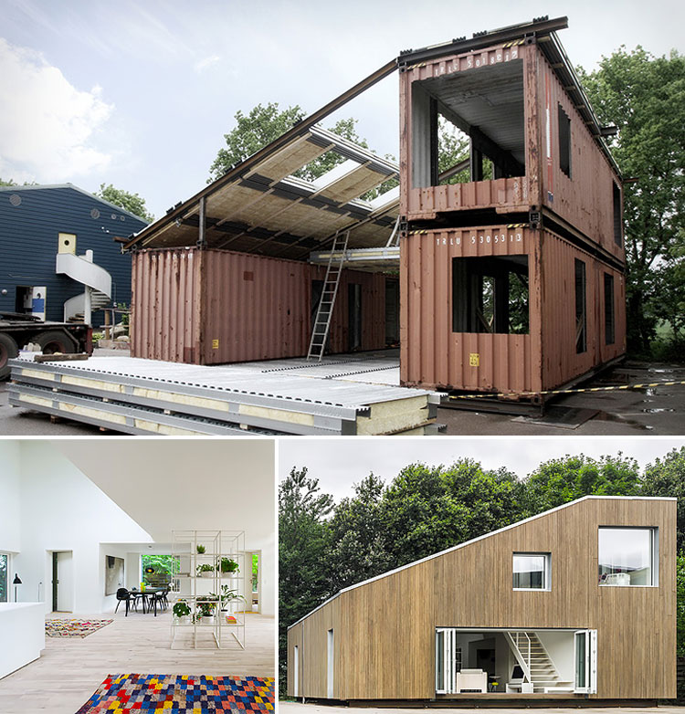 Casa container dal design moderno n.19