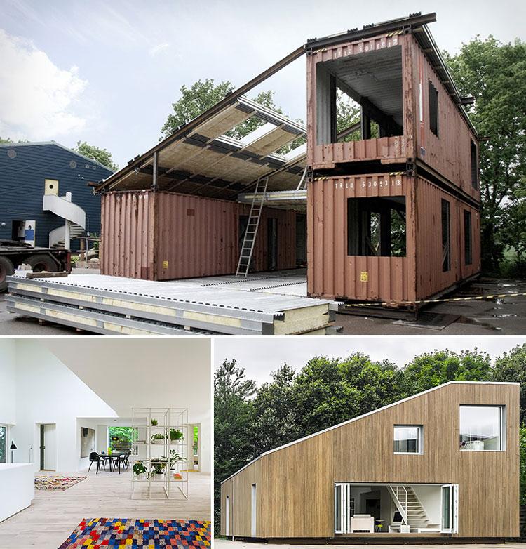 Casa container dal design moderno n.19