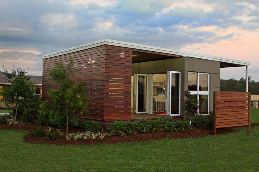 Casa container dal design moderno n.20
