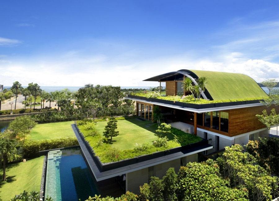 Villa ecologica di lusso n.15