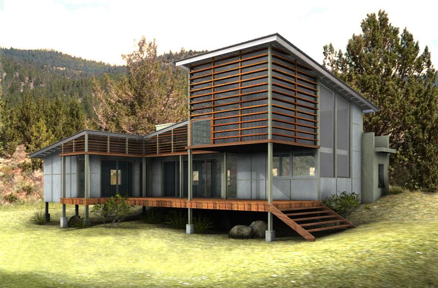 Villa ecologica di lusso n.27