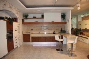 30 foto di cucine in muratura moderne - Cucine rustiche con penisola ...