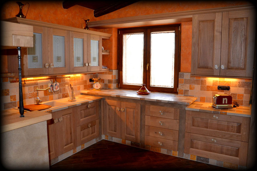 Mattoni Per Cucina In Muratura. Stunning Cucina Decorata Con ...