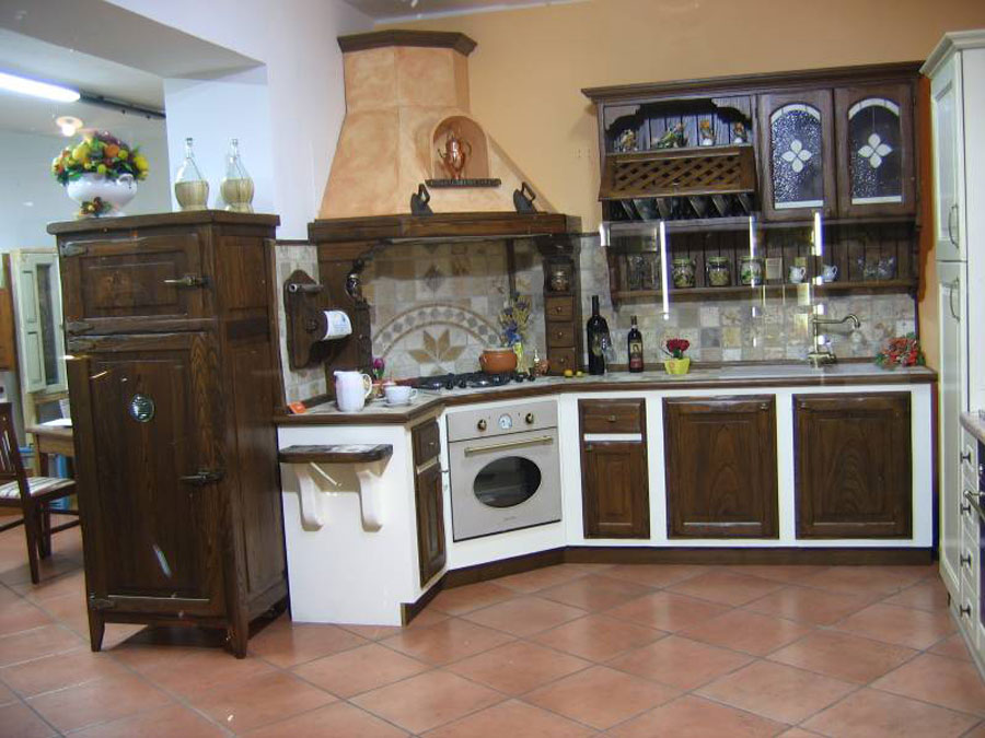 45 Cucine in Muratura Rustiche dal Design Classico ...