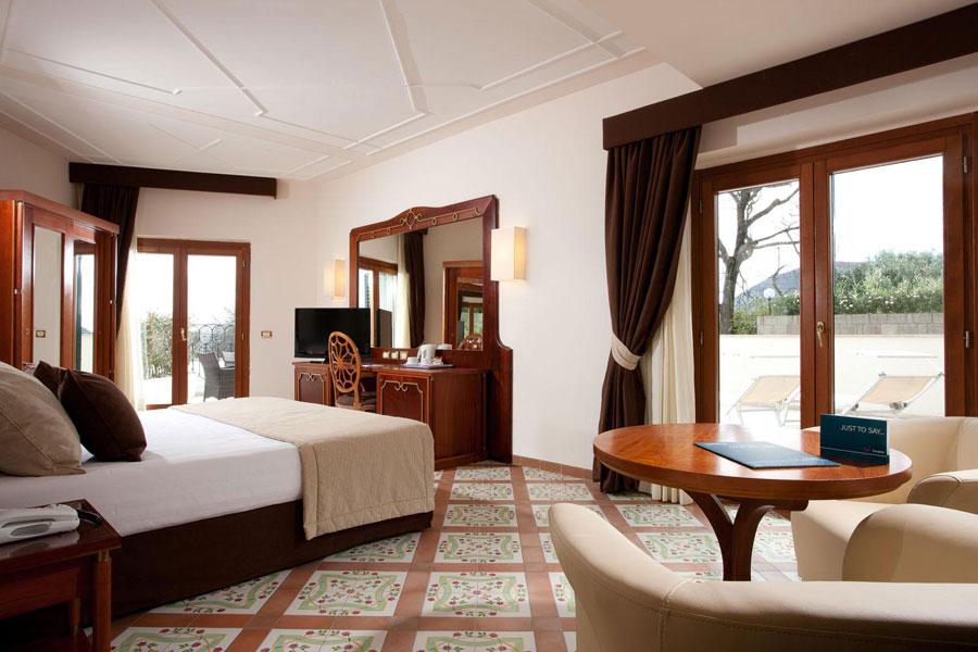 Camera del Grand Hotel Nastro Azzurro a Sorrento