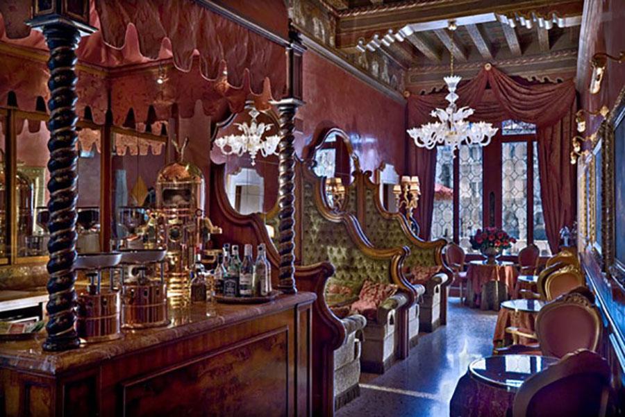 Bar dell'hotel Al Ponte Antico a Venezia