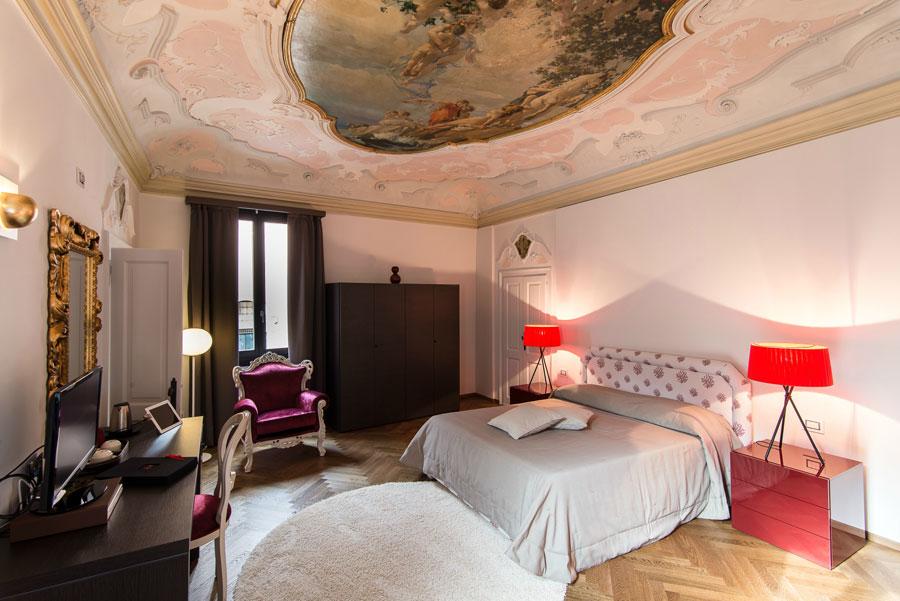 Camera dell'hotel romantica Corte di Gabriela a Venezia