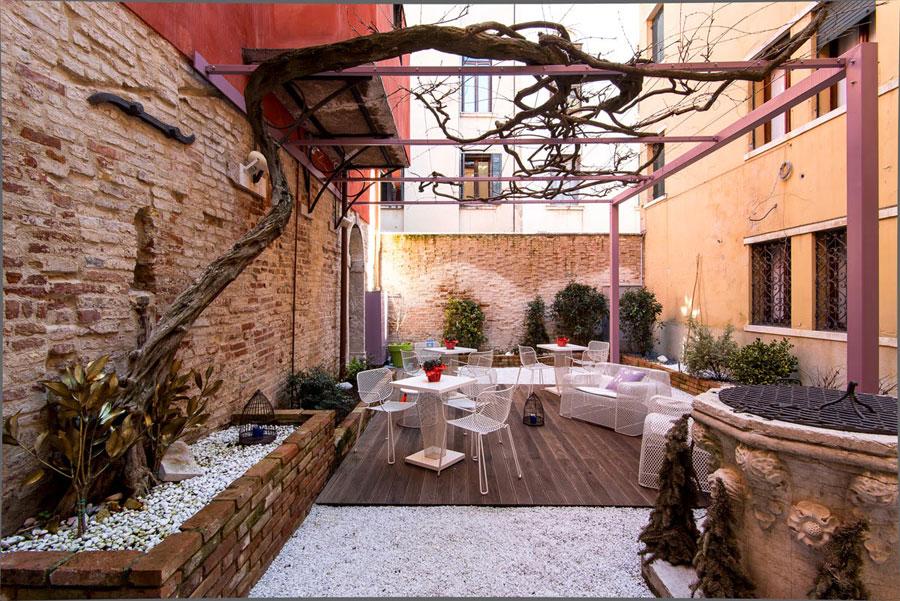 Hotel romantico Corte di Gabriela a Venezia
