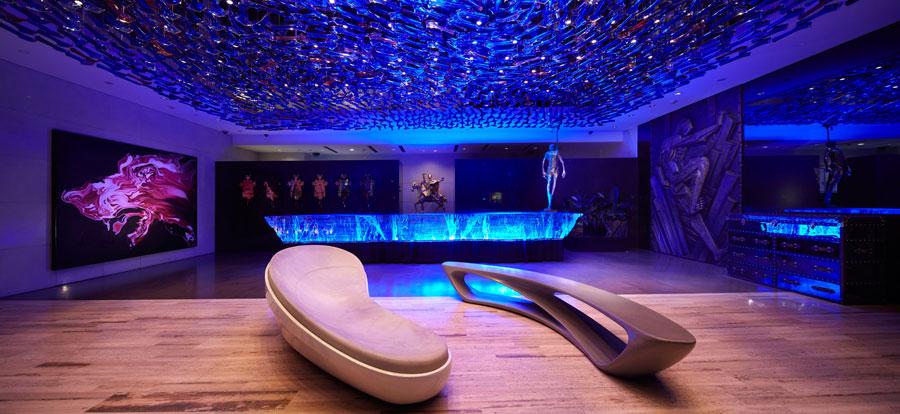 Sala dell'Hotel Eclat Beijing in Cina