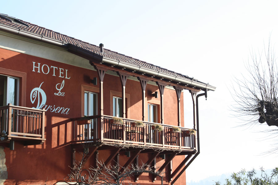 Esterno dell'Hotel La Darsena