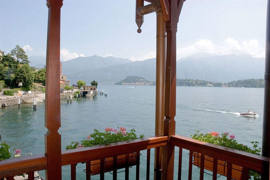 Vista da camera dell'hotel La Darsena