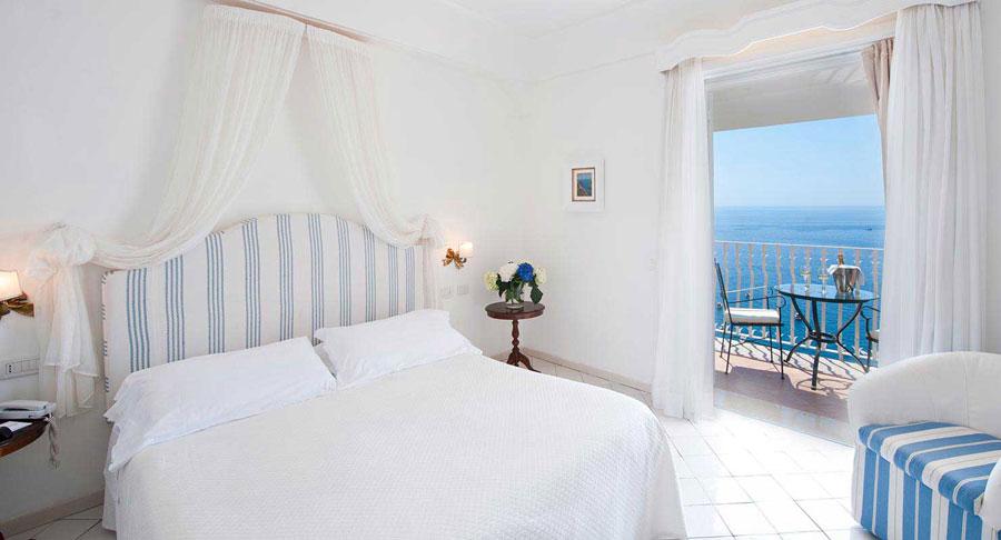 Camera dell'hotel Marincanto a Positano