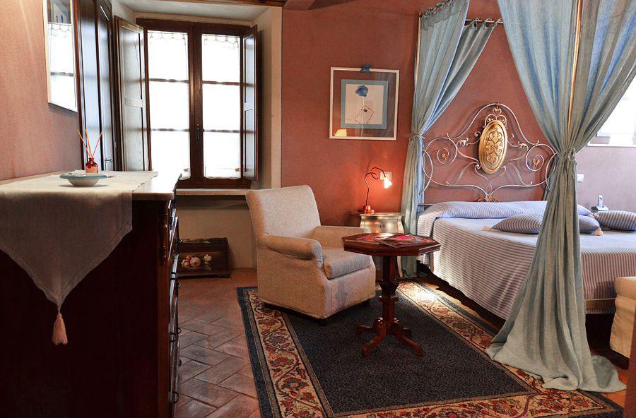 Camera dell'hotel Palazzo Capitano