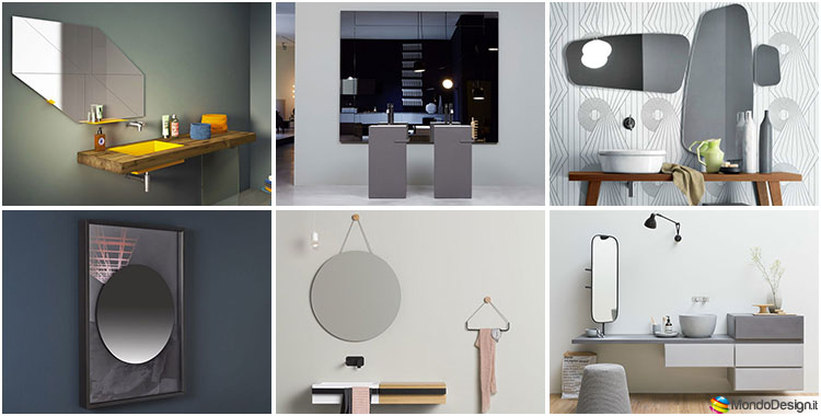 Specchio Grande Da Bagno.70 Specchi Per Bagno Moderni Dal Design Particolare Mondodesign It