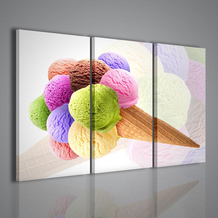 50 quadri moderni per cucina stampe su tela componibili - Quadri per il bagno ...