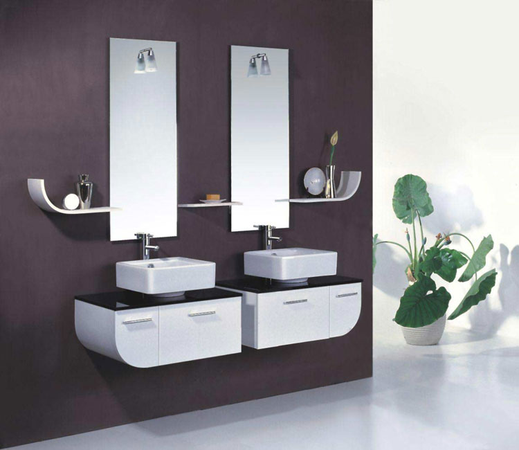 Beautiful Bathroom Color Schemes For 2018: 70 Specchi Per Bagno Moderni Dal Design Particolare