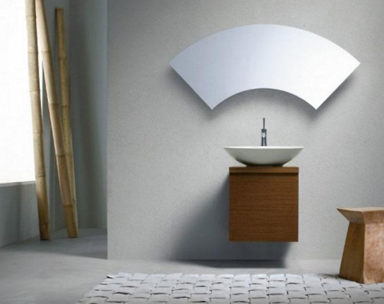 Specchio per bagno dal design moderno n.04