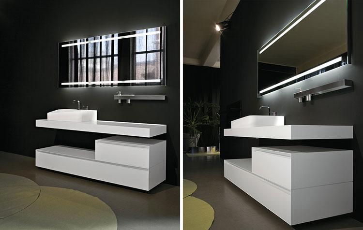 Specchio per bagno dal design moderno n.10