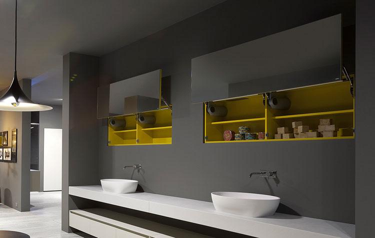 Specchio per bagno dal design moderno n.11