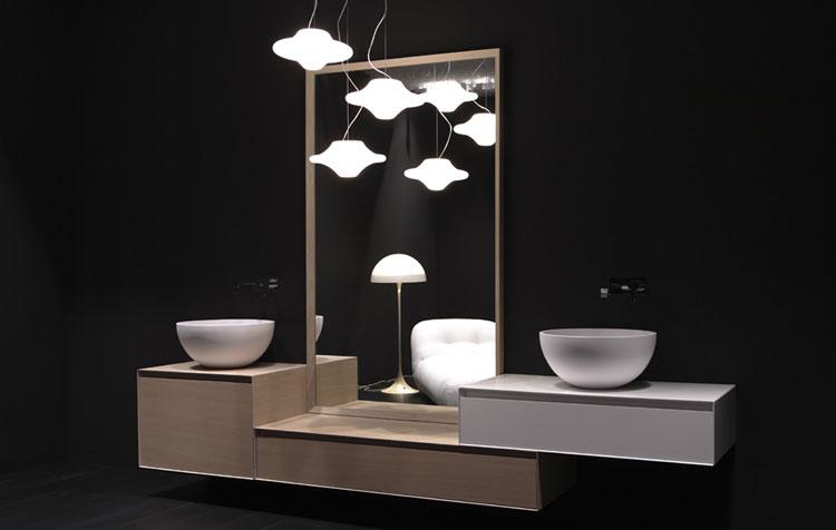 Specchio per bagno dal design moderno n.12