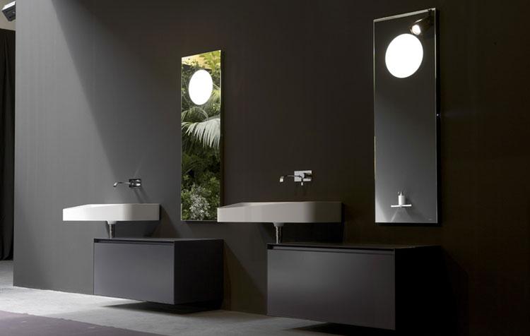 Specchio per bagno dal design moderno n.14