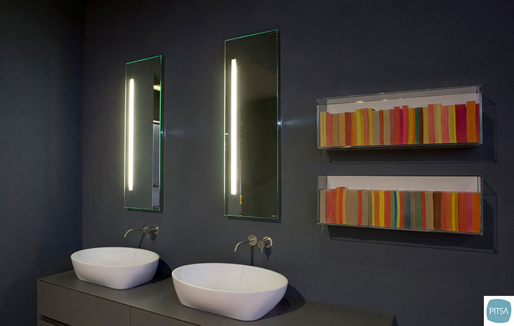specchi bagno particolari mensole particolari design originale specchi per bagno moderni
