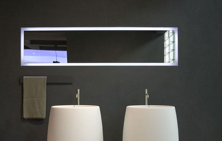 Specchio per bagno dal design moderno n.18