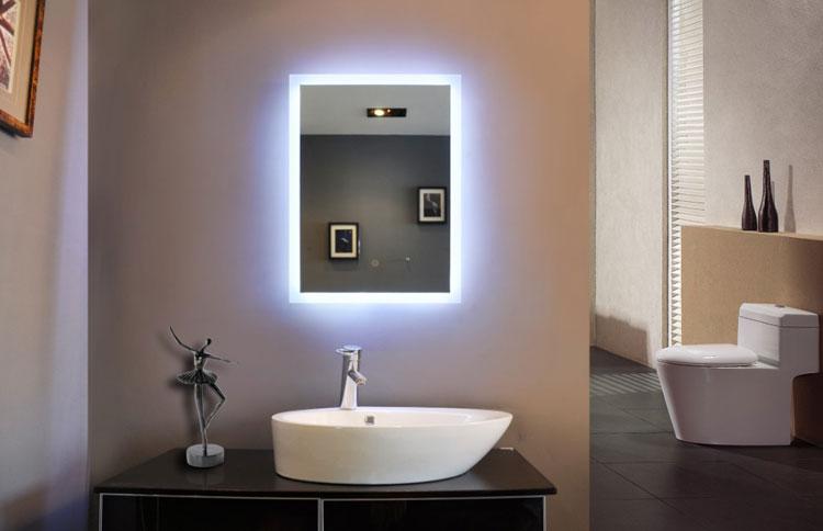 Specchio per bagno dal design moderno n.19
