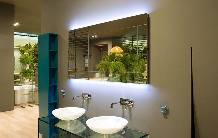 Specchio per bagno dal design moderno n.20