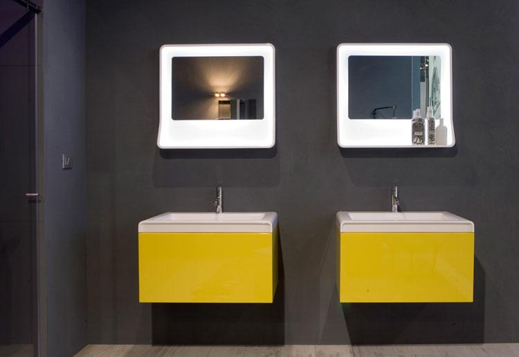 Specchio per bagno dal design moderno n.22