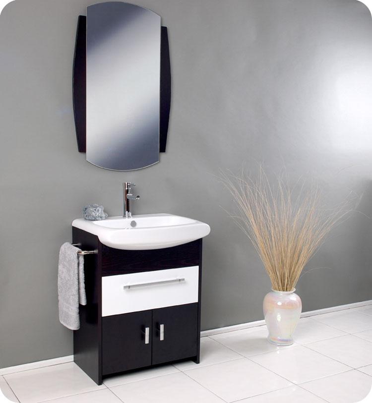 Specchio per bagno dal design moderno n.23