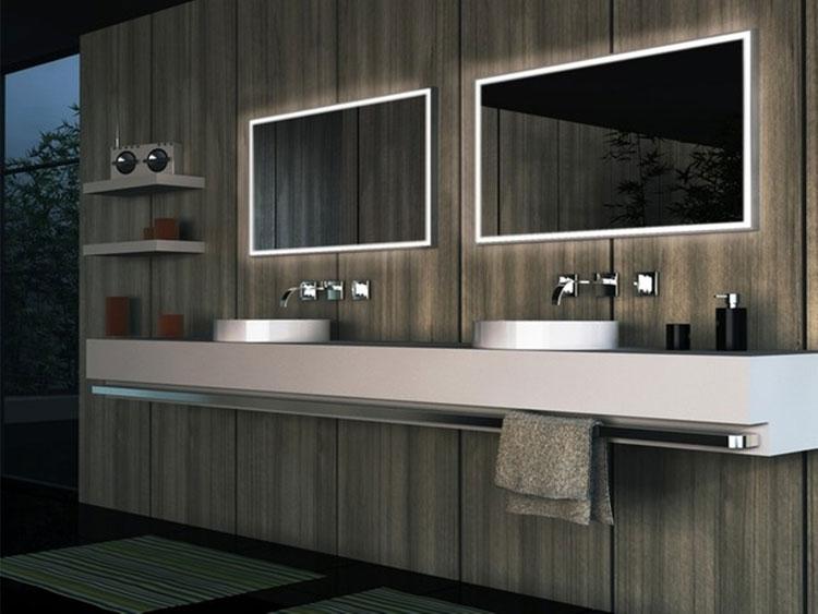 Specchio per bagno dal design moderno n.24