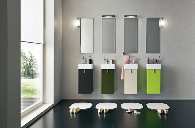 Specchio per bagno dal design moderno n.26