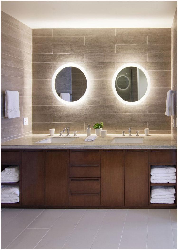 Specchio per bagno dal design moderno n.28