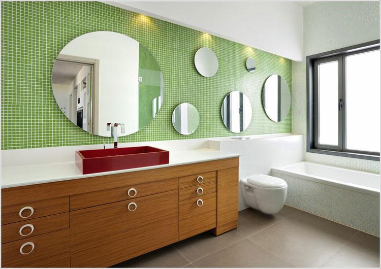 Specchio per bagno dal design moderno n.29