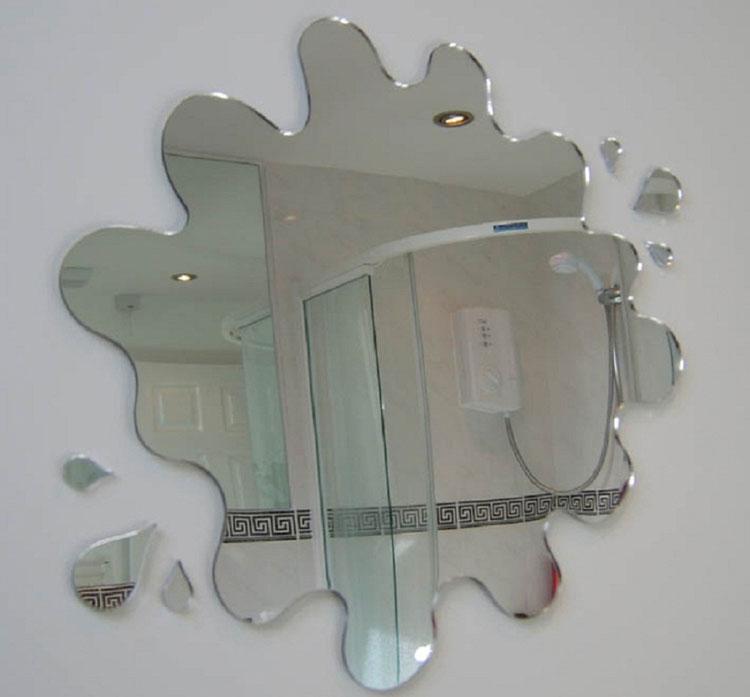 Specchio per bagno dal design moderno n.30