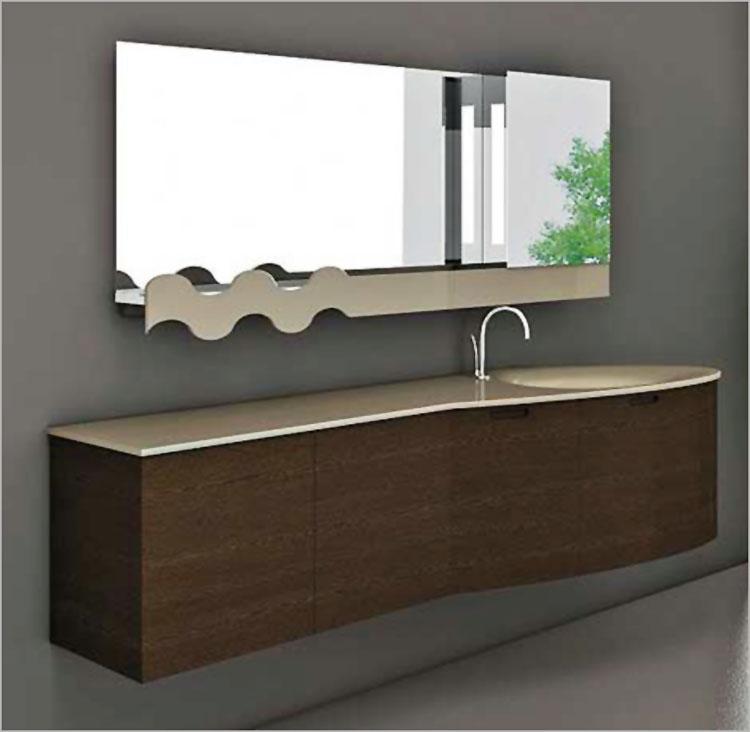Specchio per bagno dal design moderno n.37