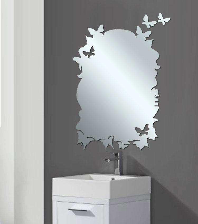 Specchio per bagno dal design moderno n.38